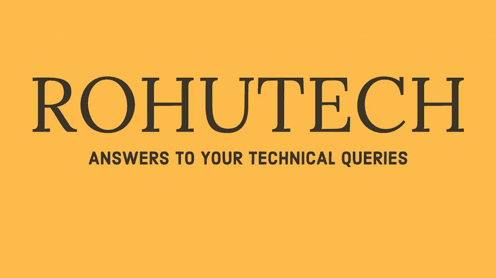 Rohutech Banner
